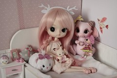 Little Pink World  (Loony-Doll) Tags: pullip dal heiwa stock wig eyechips obitsu groove poison girl poisongirldoll bjd aileen doll dolls aileendoll rot dragon custo custom customise makeup acryliques poupe tsumtsum lalaloopsy sylvanian families sylvanianfamilies diorama dollhouse