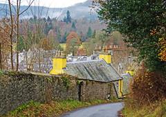 Brae Street (eric robb niven) Tags: ericrobbniven scotland dunkeld perthshire landscape houses roads street dundee