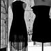 Black dresses and the street beyond, Dubrovnik