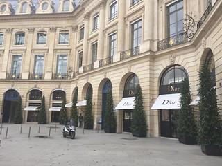 Boutique Dior : Place Vendôme - Paris 1er