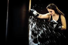 Frauenpower (Roman Achrainer) Tags: frauenpower frau boxen boxsack wasser sport achrainer
