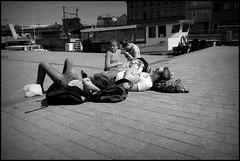 Aalst (B) Werfplein - 2016/05/09 (Geert Haelterman) Tags: geert haelterman streetphotography straatfotografie photographiederue photoderue fotografadecalle fotografiadistrada strassenfotografie candid streetshot monochrome black white blackandwhite zwart wit belgium aalst alost fujifilm x10
