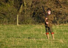 Lone-Shooter-in-Bolar-Hat (GREENGRASS F1) Tags: shooting game pheasantshoot staffordshireengland shotgun