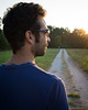 glimpse of light (*magma*) Tags: light sun sunglasses backlight glasses walk hills da sole viterbo luce controluce diffraction monti occhiali passeggiata diffrazione monticimini