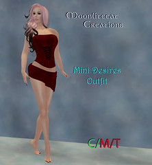 Mini Desires Outfit Ad Pic (moonlitecat) Tags: red beach club scarlet boot mesh boots goth wrap mini skirt bow heels corset tied alpha miniskirt alluring laced thighhigh wrapskirt 5sizes moonlitecatcreations moonlitecat minidesires