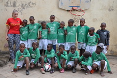 Tumaini voetbalteam