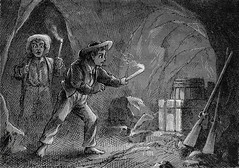 """""""Got it at last!"""" From """"The Adventures of Tom Sawyer"""" by Mark Twain (1876). First Printing (lhboudreau) Tags: boy money boys illustration mississippi book etching candles candle treasure williams coins drawing rifle illustrations drawings books rifles adventure engraving twain cave adventures sawyer finn childrensbook cavern tomsawyer clemens marktwain bookart engravings treasurehunt hardcover 1876 etchings samuelclemens huckfinn huckleberry firstedition vintagebook huckleberryfinn treasurehunting vintagechildrensbook vintagebooks firstprinting classicnovel classicbook hardcovers classicbooks adventuresoftomsawyer theadventuresoftomsawyer hardcoverbooks hardcoverbook classicstory vintagehardcoverbook classicchildrensbook americanpublishingcompany firstamericanedition vintagehardcoverbooks theamericanpublishingcompany theamericanpublishingco americanpublishing americanpublishingco twwilliams truewwilliams truewilliams"""
