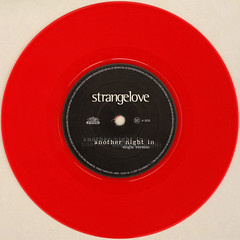 Strangelove - Another Night In (Leo Reynolds) Tags: red colour vinyl single record squaredcircle disc coloured platter 45rpm 7inch xleol30x sqset120 xxx2015xxx