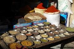 Spices at Bhavnagar market, Saurashtra, Gujarat (Sekitar) Tags: india market spices gujarat gewrz bhavnagar saurashtra earthasia