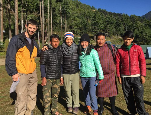 I get to see and know the meaning of life because of these guys. #42 From the very bottom of my heart, thank you thank you thank you, for saving my life. #gratefulgirl #Bhutan #douglasadams