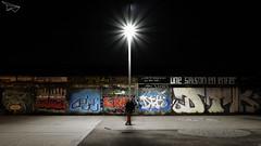 Une Saison en Enfer... (libre comme l'R) Tags: street night tag rue nuit caen cinma rverbre candlabre