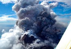 Montserrat Volcano Helicopter Trip Antigua 1 December 2009 (BaggieWeave) Tags: volcano antigua montserrat caribbean soufrièrehills montserratvolcano soufrièrehillsvolcano pyroclasicflow