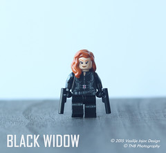 Lego Captain America: The Winter Soldier Black Widow (Vasilije Injac) Tags: winter black america soldier war lego civil captain guns shield minifig custom widow natasha pistols avengers holster minifigure the romanoff