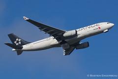 B-6091 - Airbus A330-243 - Air China (Star Alliance livery) - CN 867 (Bastien Spotting Aviation) Tags: china cn star air airbus bastien alliance livery 867 a330243 b6091 engerbeau