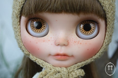 My Custom Commissions Blythe Doll.