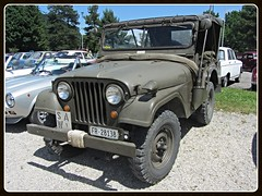 Kaiser M38A1 _ Ex-Swiss Army (v8dub) Tags: auto road old terrain classic ex car wheel army drive 1 schweiz switzerland automobile all suisse jeep 4x4 swiss military 4 automotive off voiture m american oldtimer kaiser oldcar wd militaire collector 38 arme tout militr wagen pkw klassik gelndewagen allrad a grandvillard worldcars