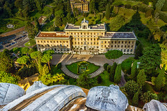 "Palace of the Governorate of Vatican City State • <a style=""font-size:0.8em;"" href=""http://www.flickr.com/photos/89679026@N00/22925040666/"" target=""_blank"">View on Flickr</a>"
