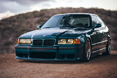 bmws e36 (Jas Canfield) Tags: vw volkswagen wagon static bags gti a4 audi bbs hatchback slammed stance camber airbags bagged fitted fitment vsp stanceworks rotiform stancenation cambergang
