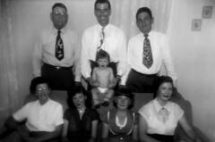Homer and Mary Hite, Kids and Boswells - 1951 (ataribravo1) Tags: max robert senior roy elizabeth jean mary dean gordon lee carol homer wheeler sr maxine olie faye 1951 boswell hite lawanda