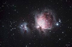 M42 - Orion Nebula - Modified Canon Xsi (Trevor D. Jones) Tags: night canon photography space review explore telescope astrophotography modified astronomy meade xsi scientific 80mm skywatcher autoguiding