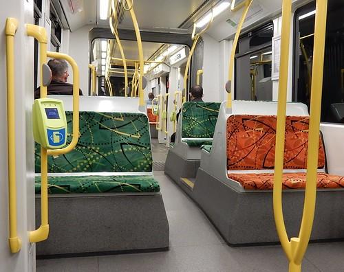 New Melbourne Tram Interior