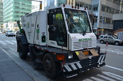 Street Sweeper (thoth1618) Tags: street nyc newyorkcity ny newyork manhattan vehicle cleaner sanitation streetsweeper sweeper photooftheday streetcleaner sanitationvehicle