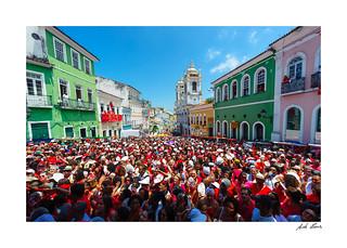 Celebração do dia de Santa Bárbara. Pelourinho, Salvador - Bahia 2015