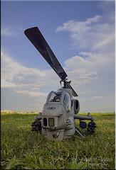 Bell AH1 Sea Cobra RC (Nstor Pugliese) Tags: radio cobra control bell super helicopter helicptero align aeromodelismo aeromodeling ah1