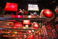 World of Coca-Cola (lukedrich_photography) Tags: georgia south peachstate us usa canont1i canon t1i unitedstates unitedstatesofamerica america  vereinigtestaaten    estadosunidos tatsunis northamerica atlanta       city metro metropolitan cocacola       worldofcocacola tourist musuem company history culture entertainment pembertonplace johnpemberton soda pop refreshment drink beverage advertisment advertising product monitor sign signage display art world international ga