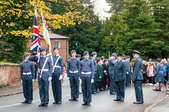 Remembrance Sunday at Eastham