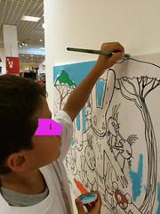 ateul 1 (mc1984) Tags: atelier kids painting mc1984 canvas posca acrylique brushes