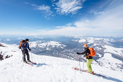 Cumbre Volcn Lonquimay (Patricio Jimnez Barros) Tags: randonee ski volcanlonquimay chile skitouring