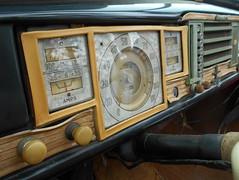 1940 Chrysler New Yorker Convertible (splattergraphics) Tags: 1940 chrysler newyorker dash plastic bakelite patina mopar carshow hagleymuseumcarshow wilmingtonde