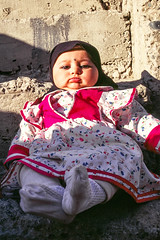 A baby in Gilgit, Pakistan (inchiki tour) Tags: travel photo film pakistan     people girl kids baby pakistani  gilgit