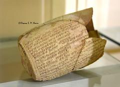 Cylinder of Esarhaddon (Sumer and Akkad!) Tags: esarhaddon assyrian cylinder mesopotamia iraq cuneiforminscription nimrud calah kalhu iraqmuseum