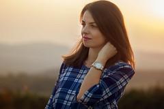 Corina (mildsson) Tags: sunset girl canon portrait sun woman color 105 600d outdoorportrait romanian