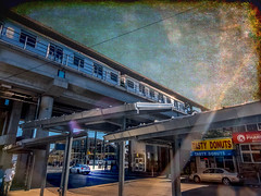 Frankford Transportation Center (veyoung52) Tags: philadelphia frankford transportation transportationcenter subway el elevatedtrain trainstation topaz topaztextures textures septa
