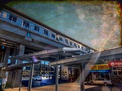 Frankford Transportation Center (veyoung52) Tags: philadelphia frankford transportation transportationcenter subway el elevatedtrain trainstation topaz topaztextures textures septa