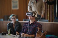 bc_VRbryn_brieedellarocca-1 (Bennington College) Tags: benningtoncollege alumnifamilyweekend virtual reality virtualreality ryot