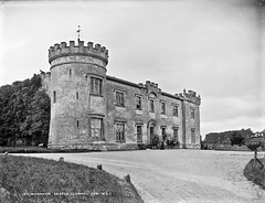 Kilmanahan Castle, Clonmel, Co. Tipperary (National Library of Ireland on The Commons) Tags: robertfrench williamlawrence lawrencecollection lawrencephotographicstudio thelawrencephotographcollection glassnegative nationallibraryofireland kilmanahancastle clonmel countywaterford countytipperary riversuir stillstanding earlofdonoughmore dowagercountessdonoughmore knocklofty greenfamily