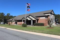 Georgia Visitor Information Center, Lowndes County building (SW corner) (MJRGoblin) Tags: lowndescounty 2016 lakepark georgia