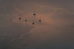 Boats in Sunset (kuhnmi) Tags: boat boot boote segelboot segelboote sailing sailingboat sunset light illumination silhouette sonnenuntergang water wasser sea meer sicily sizilien cefal italien italy italia