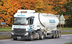 MB Actros - LEITHS Lugton (scotrailm 63A) Tags: lorries trucks tankers