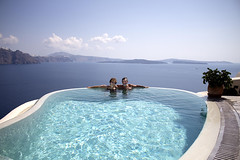 Oia Santorini Greece (chariots_rise) Tags: oia santorini greece travel vacation europe infinitypool pezoules cavehouse hotel caldera swimmingpool