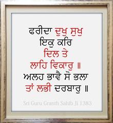 ਦੁਖ ਸੁਖ ਸਮ ਕਰ (DaasHarjitSingh) Tags: srigurugranthsahibji sggs sikh sikhism singh satnaam waheguru baba farid ji gurbani guru granth