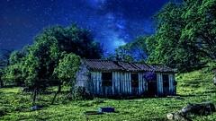 Night in Farm (gesielfreire) Tags: art house sky collor paisaje landscape paisagem campo rural
