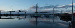 New Forth Road Bridge #2 (Claire Stones) Tags: october nikon newforthroadbridge cloud clouds firthofforth bluesky scotland forth
