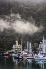 Steaming Harbour (leewoods106) Tags: telagaharbour malaysia asia southeastasia langkawi boats yachts church