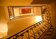 Staircase (annalisabianchetti) Tags: stair staircase indoor abstract architecture light