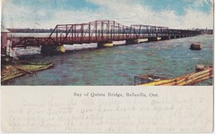 2016-93 (front) (Community Archives of Belleville & Hastings County) Tags: 1900s postcards bridges